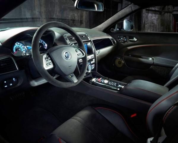 Jaguar XKR-S GT фото салона