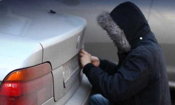 Украли гос номера с машины