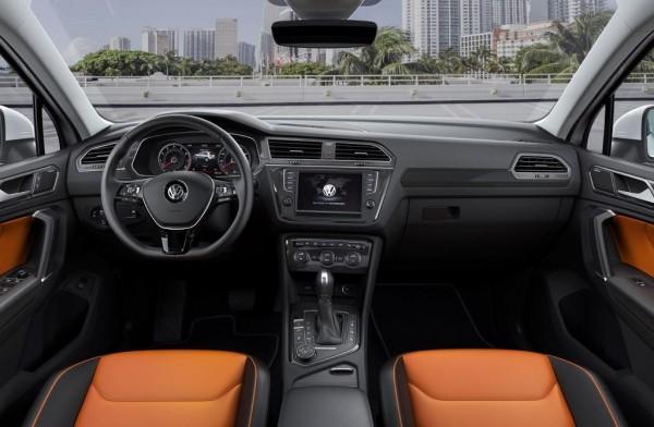 Volkswagen Tiguan 2016 фото салона