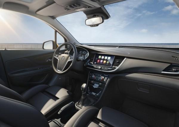 Opel Mokka X 2016 фото салона