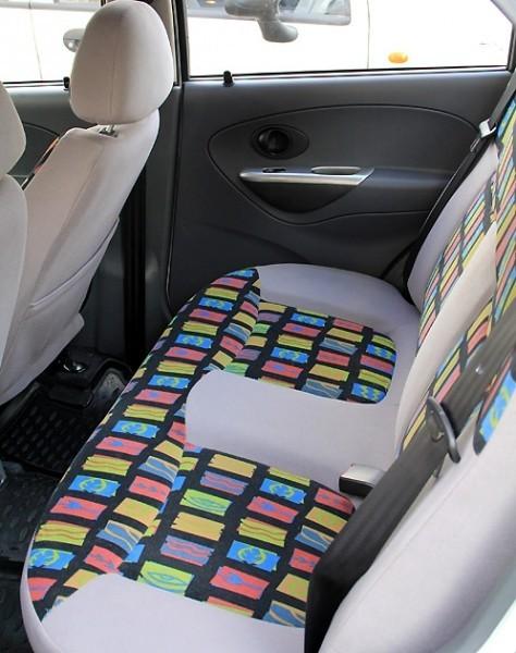Daewoo Matiz задние сиденья