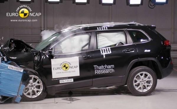 Краш-тест Jeep Cherokee