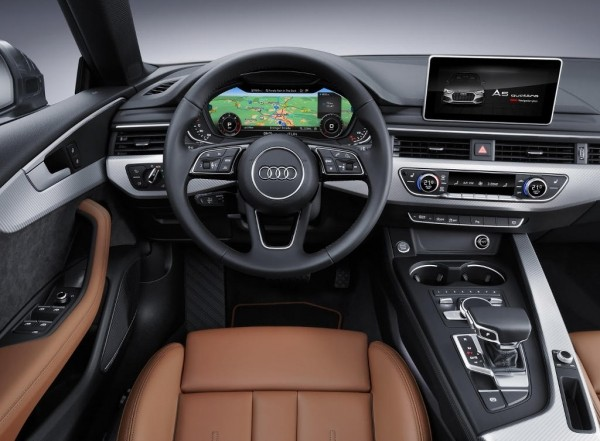 Audi S5 Sportback 2017 фото салона