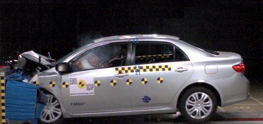 Краш-тест Toyota Corolla