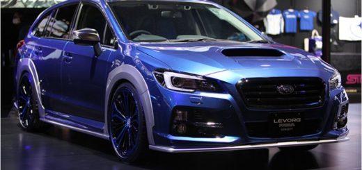 Краш-тест Subaru Levorg
