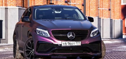 Mercedes GLE AMG Coupe