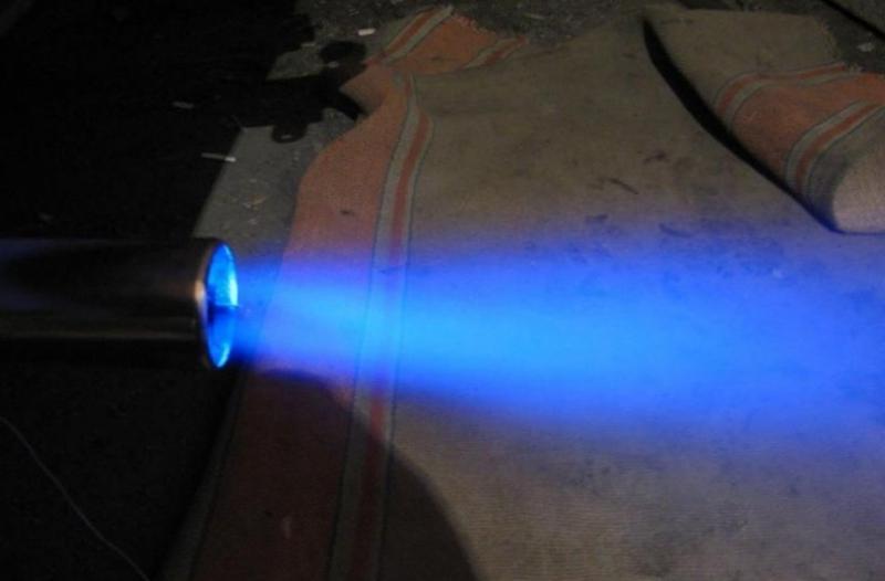 Подсветка насадки на глушитель