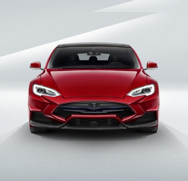 Tesla Model S в тюнинге