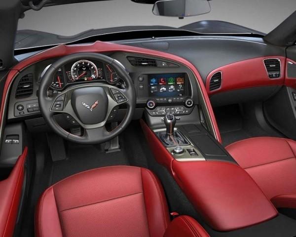 Chevrolet Corvette C7 Stingray фото салона
