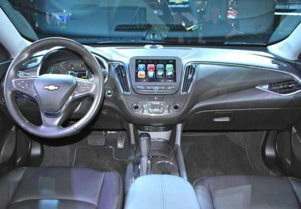 Chevrolet Malibu фото салона