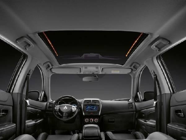 Mitsubishi ASX фото салона