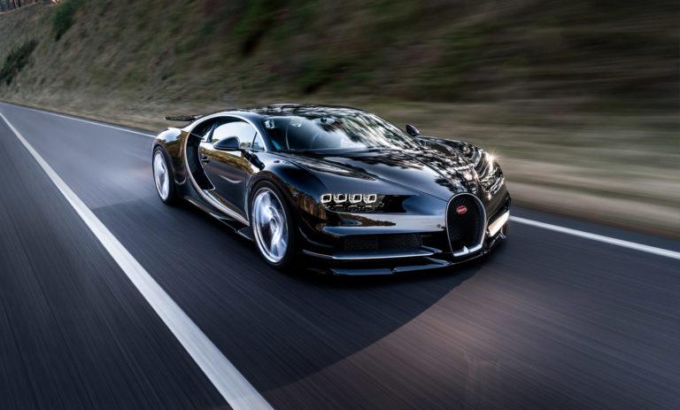 суперкар Chiron от Bugatti