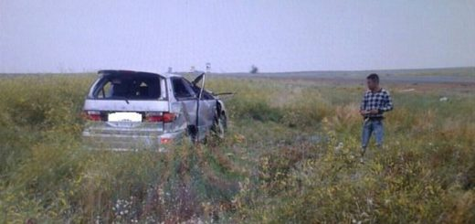 за рулем автомобиля погибла женщина