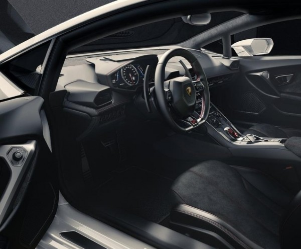 Lamborghini Huracan LP610-4 фото салона
