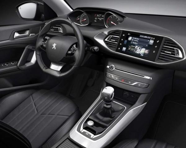 Peugeot 308 фото салона