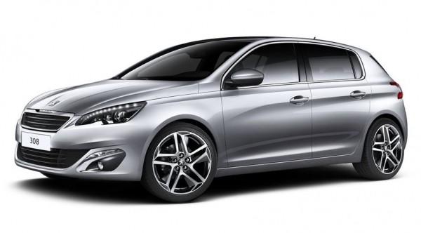 Peugeot 308 фото сбоку