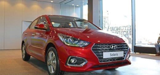 Корейский седан Hyundai Solaris
