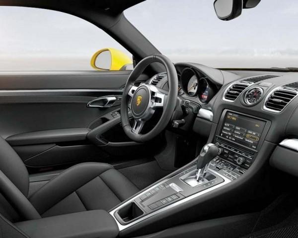 Porsche Cayman 2013 фото салона