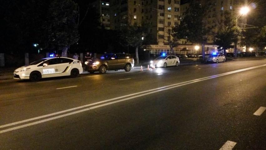 внедорожник смертельно травмировал пешехода