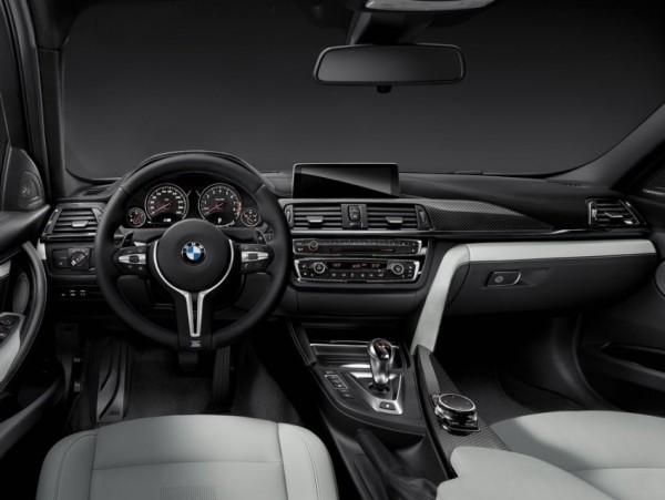 седан BMW M3 фото салона