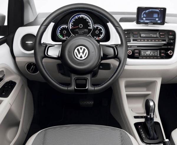 Volkswagen e-Up фото салона