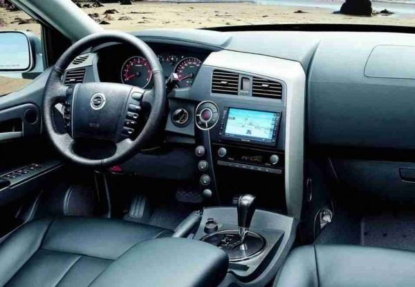 SsangYong Actyon Sports Фото салона