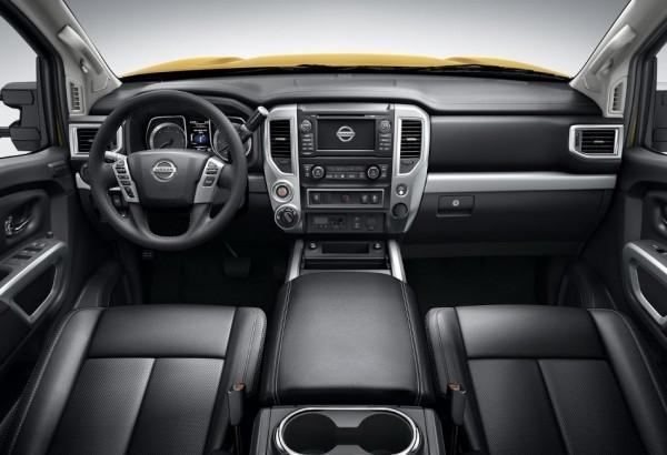 Nissan Titan XD 2016 фото салона