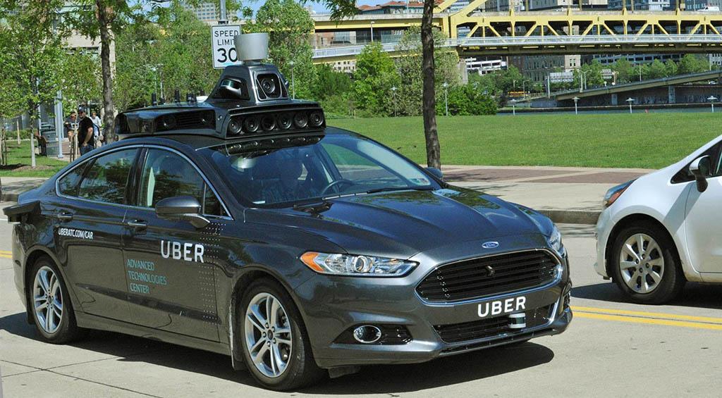Volvo для Uber