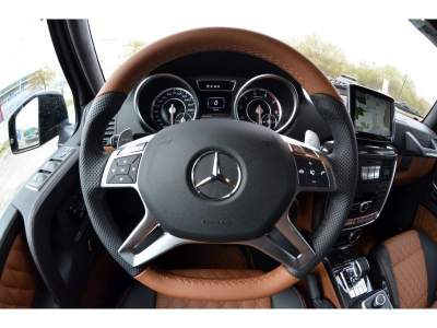 Mercedes G63 AMG 6X6 салон