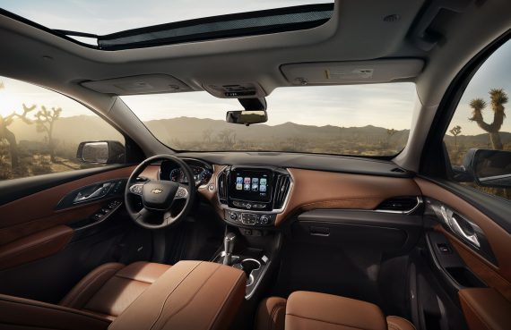 Chevrolet Traverse фото салона
