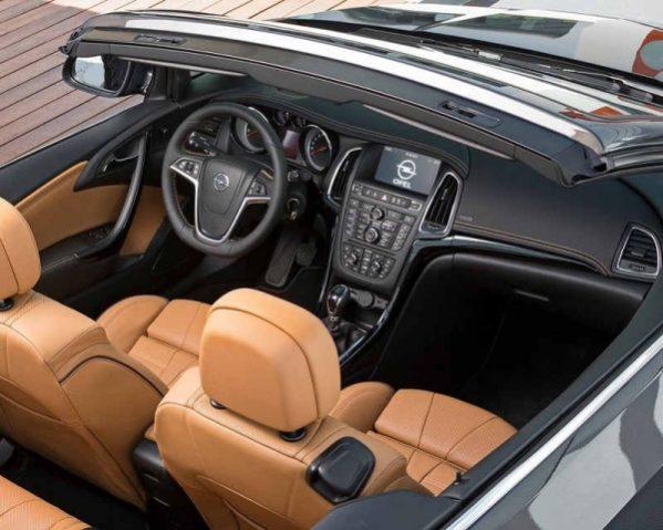 Opel Cascada фото салона