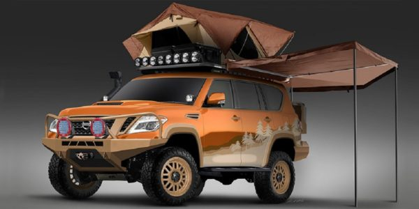 Nissan Armada Mountain