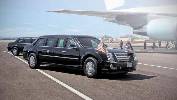 новый бронированный лимузин Cadillac