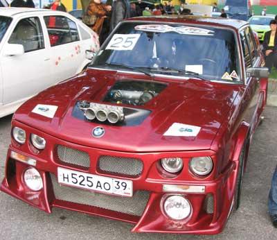 ВАЗ 2106 тюнинг капота, фар, бампера