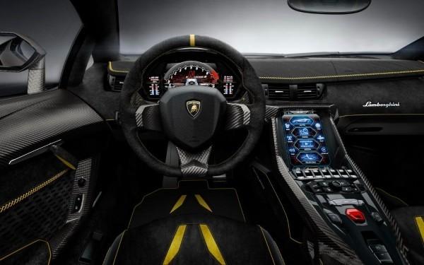 Lamborghini Centenario LP770-4 фото салона
