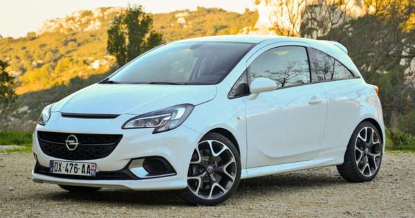 несколько интересных новинок Opel