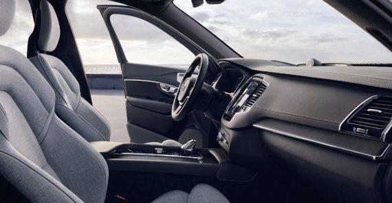 Volvo XC90 фото салона