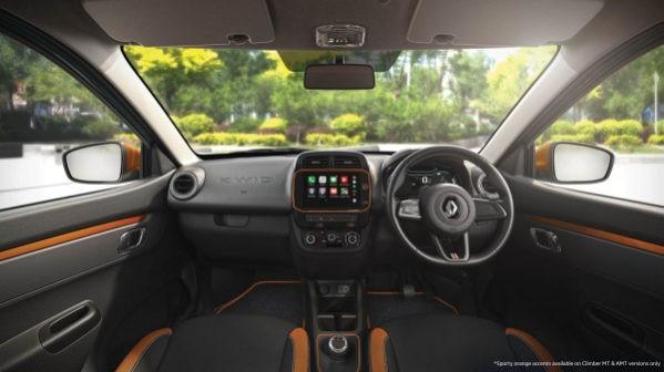 Renault Kwid 2020 фото салона
