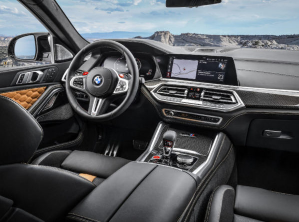 BMW X5 M и Х6 М фото салона