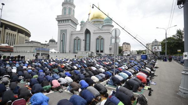 временные ограничения движения транспорта вблизи мечетей