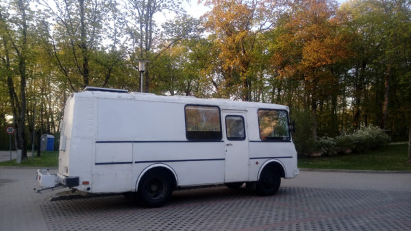 переделка автобусов ПАЗ в автодома