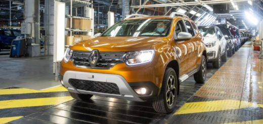 Renault Duster с московского завода